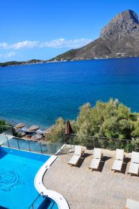 The swimming pool at or close to MASSOURI BEACH HOTEL