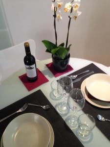 A kitchen or kitchenette at Residencial Suites Valldemossa - Turismo de Interior