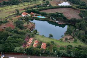 A bird's-eye view of Hotel Lago das Pedras
