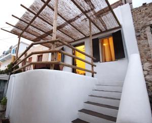 A balcony or terrace at Atlantis Houses