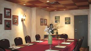 The business area and/or conference room at Quality Inn and Suites Montreal East