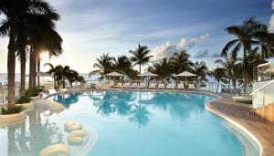The swimming pool at or near Mövenpick Hotel Mactan Island Cebu