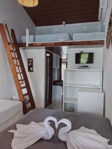 Um quarto em Pousada Brasil Caribe