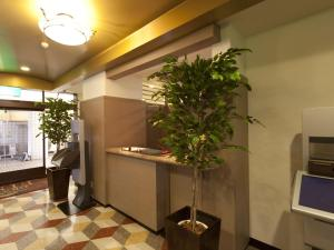 The lobby or reception area at Hotel Grand Fine Toyonaka Minami (Adult Only)
