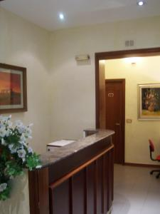 The lobby or reception area at Hotel Pensione Romeo