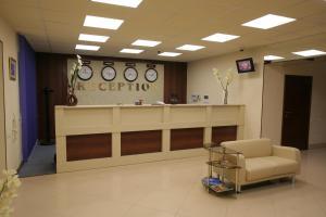Лобби или стойка регистрации в Гостиница-отель Inshinka-SPA