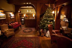 The lounge or bar area at Holbeck Ghyll Country House Hotel