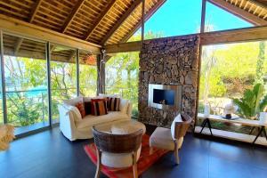 O lounge ou bar de Villa Manatea