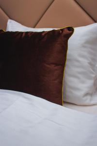 Un pat sau paturi într-o cameră la Bernardazzi Grand Hotel & SPA