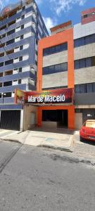 The facade or entrance of Pousada Mar de Maceió