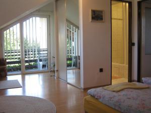 Postel nebo postele na pokoji v ubytování Privat Apartma Ulrych