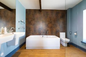A bathroom at The Seagate