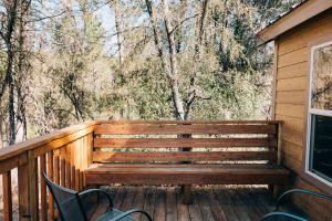 A porch or other outdoor area at Sierra Meadows