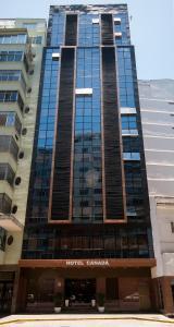 The facade or entrance of Hotel Canada
