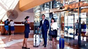 Guests staying at Crowne Plaza Dubai Deira, an IHG Hotel