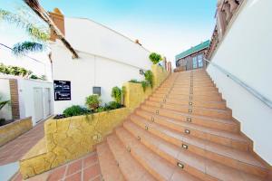 En balkong eller terrass på Hotel Zen Airport