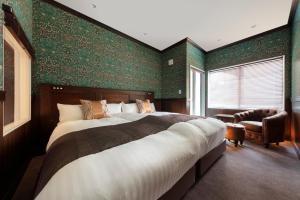 A room at Karuizawa Hotel Longing House