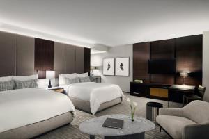 A room at The Hazelton Hotel