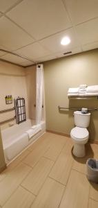 A bathroom at Holiday Inn Express Pittsburgh West - Greentree, an IHG Hotel