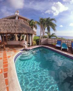 Der Swimmingpool an oder in der Nähe von Oceanview B&B