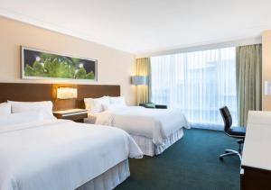 A room at The Westin Wall Centre, Vancouver Airport