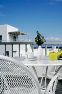 A balcony or terrace at Filoxenia Apartments
