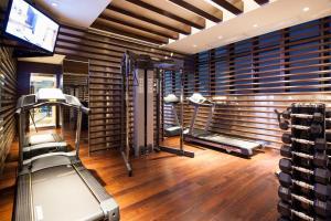 Gimnasio o instalaciones de fitness de Rosedale Hotel Kowloon