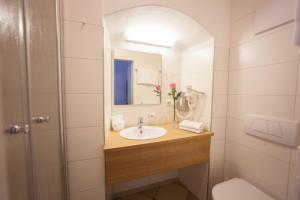 Ванная комната в Hotel Wilder Mann