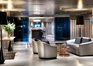 The lobby or reception area at The Marmara Taksim
