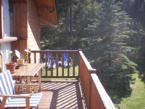 A balcony or terrace at Niu Dels Falcons