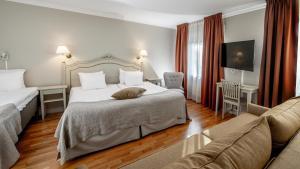 Ett rum på Blommenhof Hotel