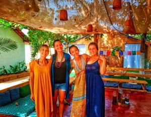 Members of staff at GoYm Resort