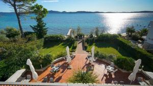 Pogled na vrt u objektu Hotel Belvedere ili u blizini