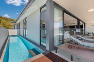 A porch or other outdoor area at Mirage Whitsundays