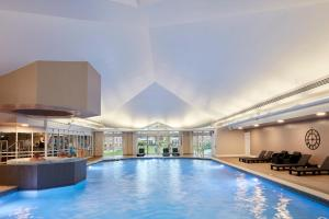 The swimming pool at or near Coldra Court Hotel by Celtic Manor
