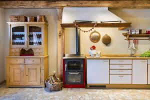 Cucina o angolo cottura di Chalet Sogno di Fiaba