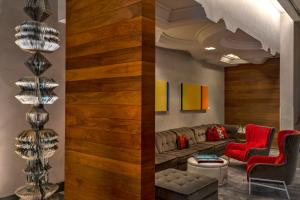 The lounge or bar area at W Austin