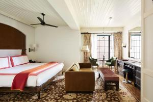 A room at The Bowery Hotel
