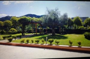 A garden outside Emozioni D'artista