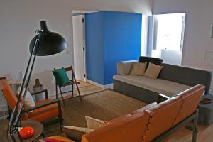 Uma área de estar em Casa de Almagreira - Empreendimento de Turismo em Espaço Rural - Casa de Campo