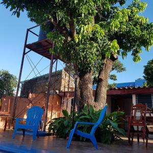 Children's play area at Managua Backpackers Inn