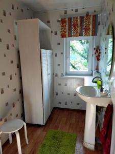 A bathroom at Country House Dom Solntsa