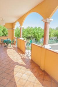 Balcone o terrazza di Hotel Costazzurra