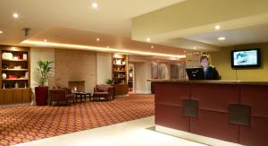 The lobby or reception area at Aberdeen Airport Dyce Hotel, Sure Hotel Collection by BW