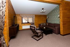 Гостиная зона в Отель Шале