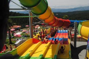 Children's play area at Naturwaterpark - Parque de Diversões do Douro