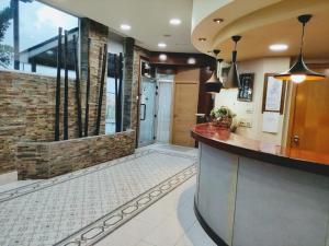 The lobby or reception area at Hotel Ría de Suances