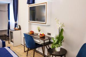TV/Unterhaltungsangebot in der Unterkunft Endican Beyazit Hotel