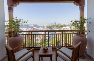 A balcony or terrace at Park Hyatt Dubai