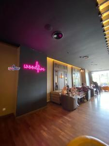 A restaurant or other place to eat at Millesime Hotel Johor Bahru